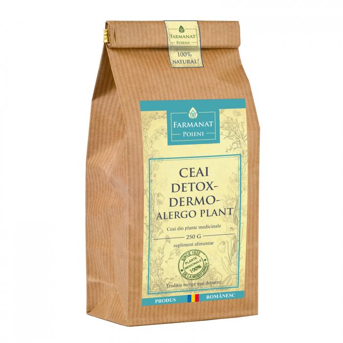 Ceai detox-dermo-alergoplant (pentru afectiuni dermatologice, depurativ) - 250g 0