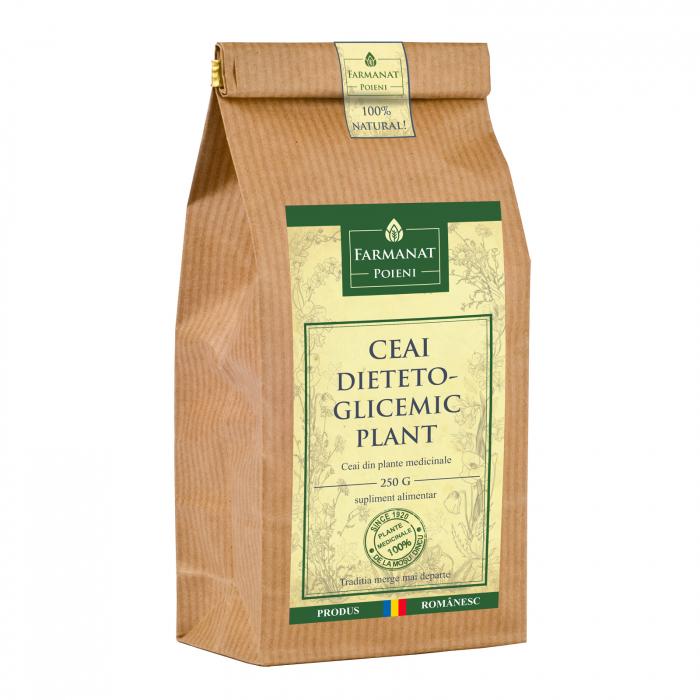 Ceai dieteto-glicemic plant (pentru diabet, afectiuni ale pancreasului) - 250g 0