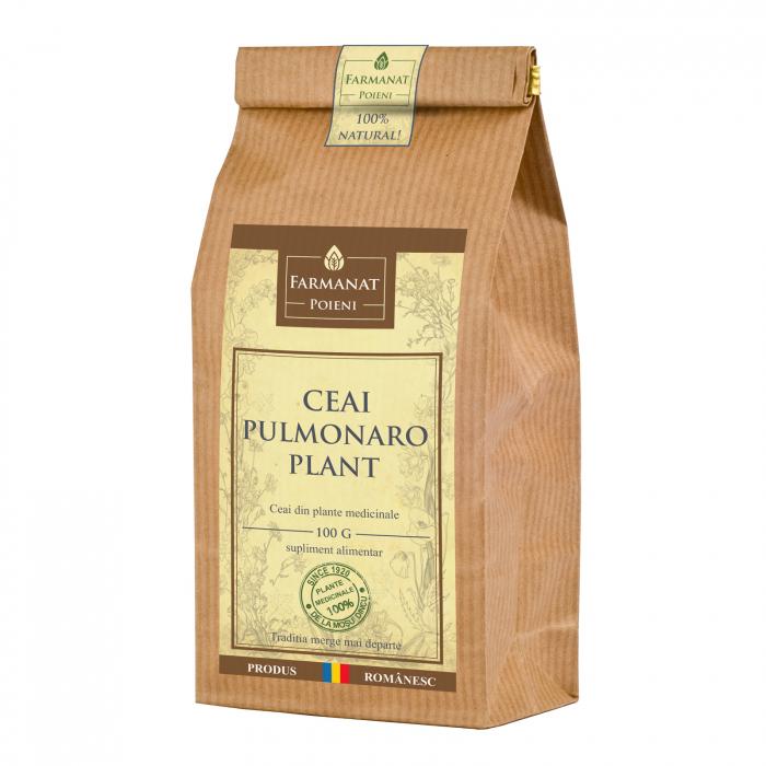 Ceai pulmonaro-plant (pentru afectiuni pulmonar respiratorii) - 100g [0]