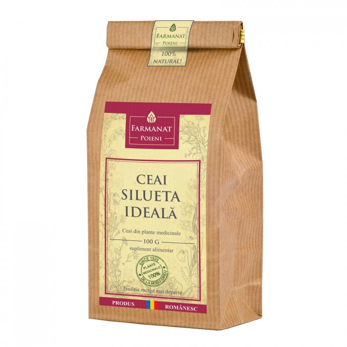 Ceai silueta ideala (impotriva obezitatii) - 100g 1
