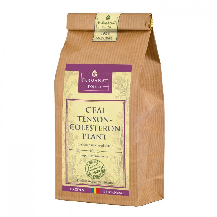 Ceai tenson-colesteron-plant (pentru hipertensiune arteriala) - 100g 0