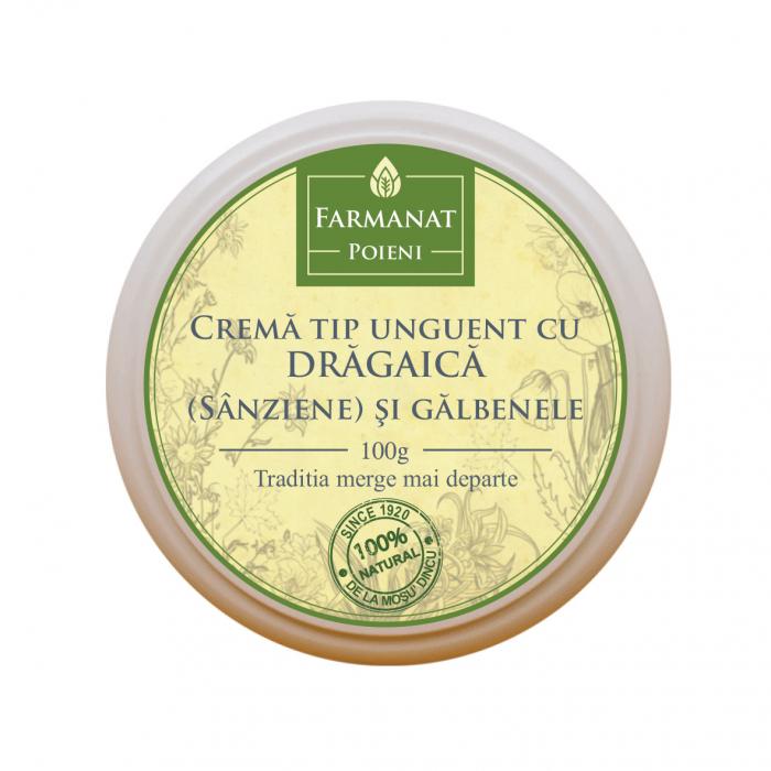Crema tip Unguent cu Dragaica (Sanziene) si Galbenele [0]