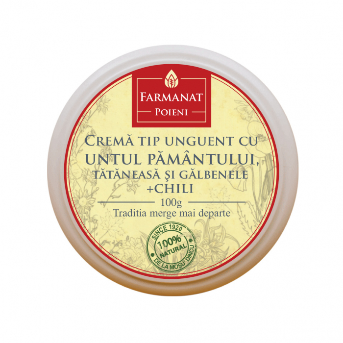 Crema tip Unguent cu Untul Pamantului, Galbenele, Tataneasa si Chili [0]