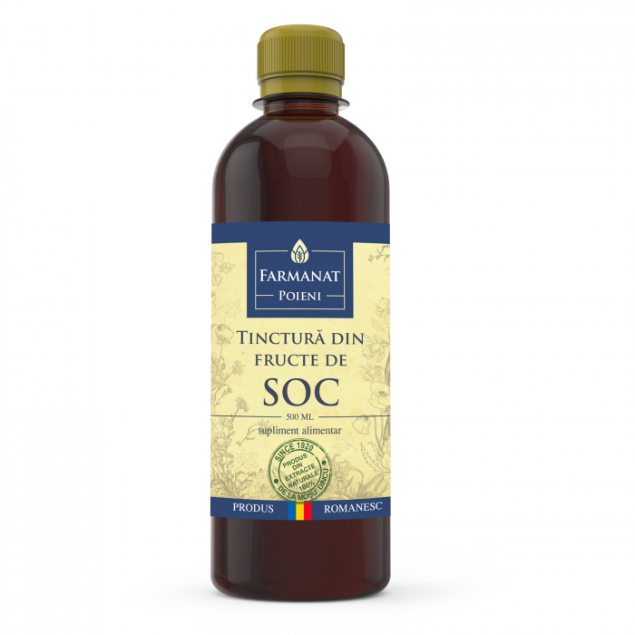 Tinctură din fructe de soc - 500ml 0