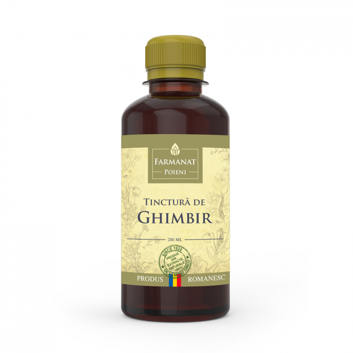 Tinctura de Ghimbir - 200ml 0