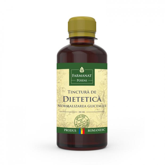 Tinctura dietetica - normalizarea glicemiei (impotriva diabetului) - 200ml 0