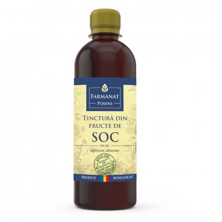 Tinctură din fructe de soc - 500ml0