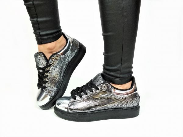 Incaltaminte Grey Kind - Pantofi Sport 3