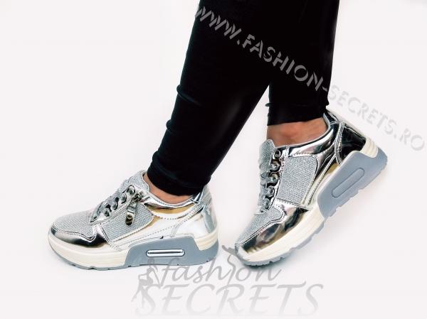 Incaltaminte Grey Fashion - Pantofi Sport 3