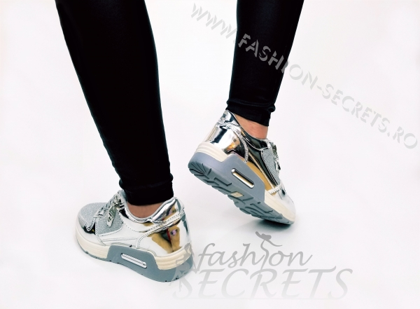 Incaltaminte Grey Fashion - Pantofi Sport 2