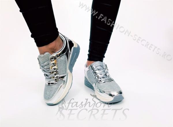 Incaltaminte Grey Fashion - Pantofi Sport 0