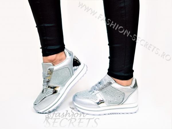 Incaltaminte Silver Precious - Pantofi Sport 1