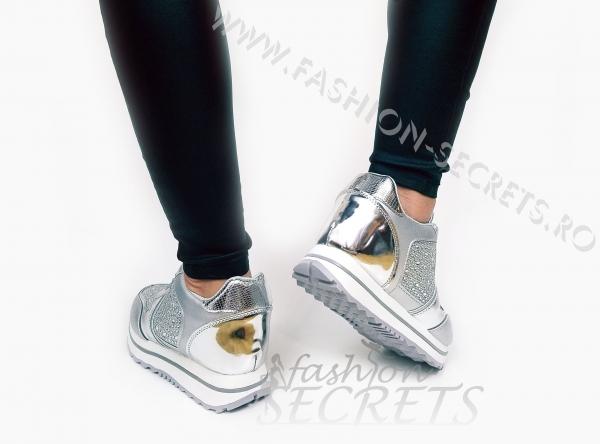 Incaltaminte Silver Precious - Pantofi Sport 3