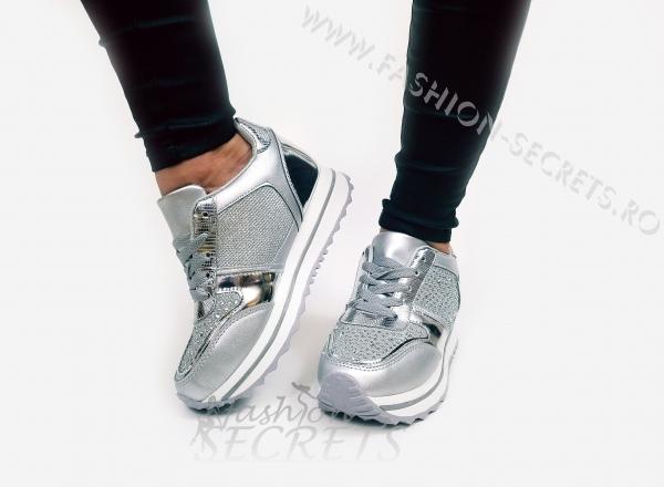 Incaltaminte Silver Precious - Pantofi Sport 2