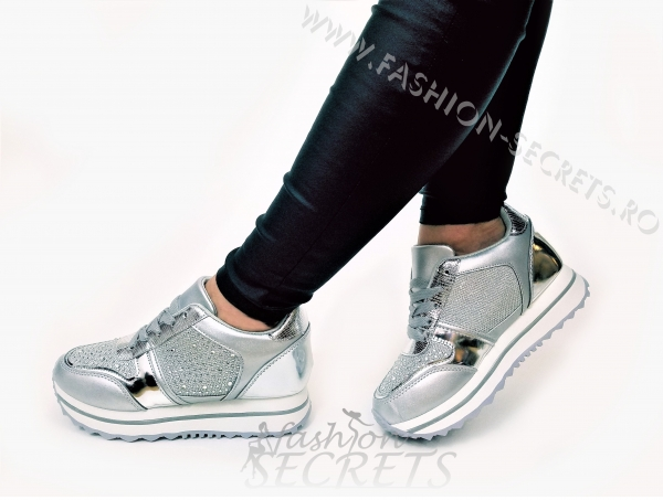 Incaltaminte Silver Precious - Pantofi Sport 4