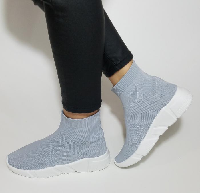 Incaltaminte Adina Grey - Pantofi Sport 3
