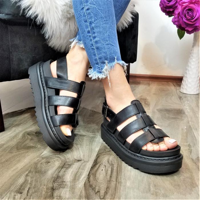 Incaltaminte Alka Black - Sandale 0