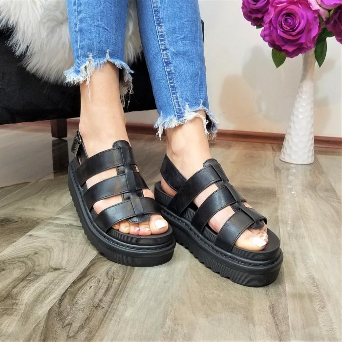 Incaltaminte Alka Black - Sandale 1