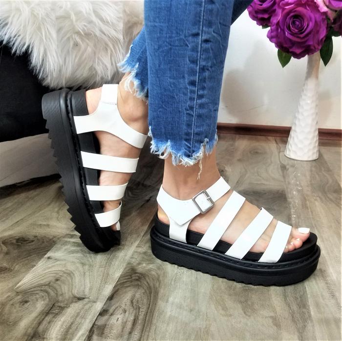 Incaltaminte Alka White - Sandale 0