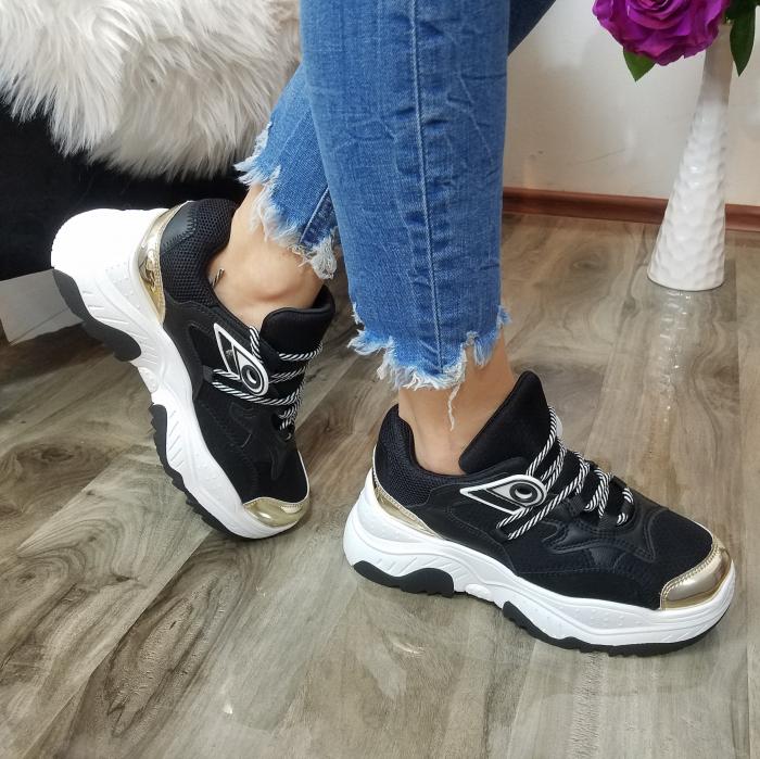 Incaltaminte Allegria Black - Pantofi Sport 2