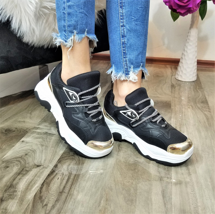 Incaltaminte Allegria Black - Pantofi Sport 0