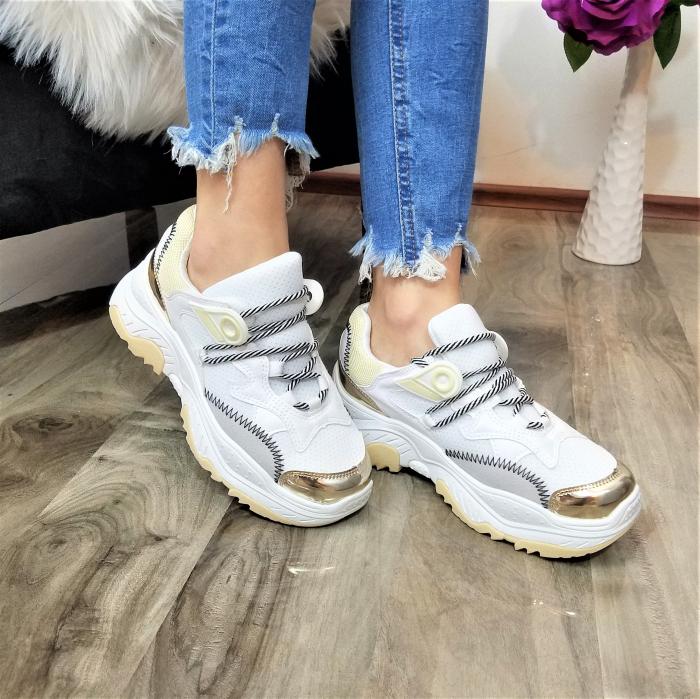 Incaltaminte Allegria White - Pantofi Sport 2