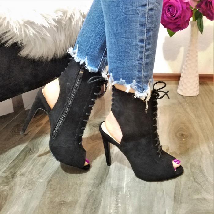 Incaltaminte Althea Black - Sandale 2