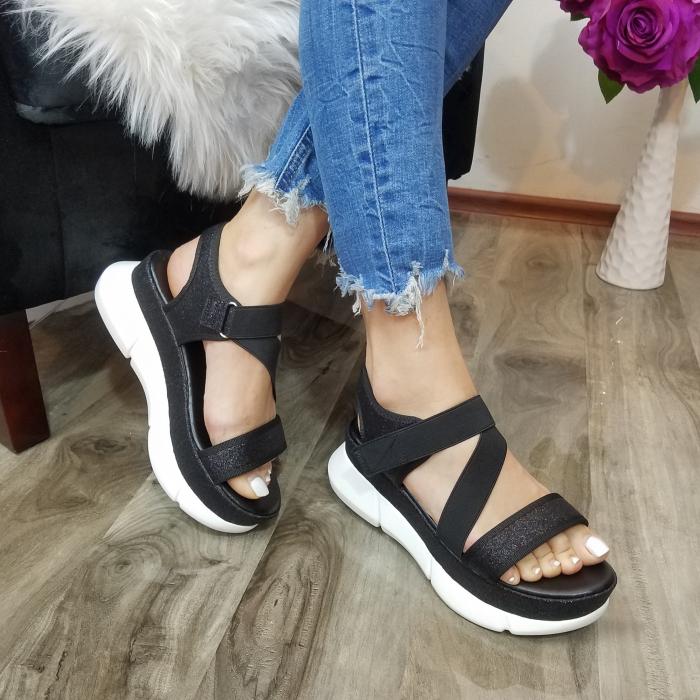 Incaltaminte Anca Black - Sandale 1