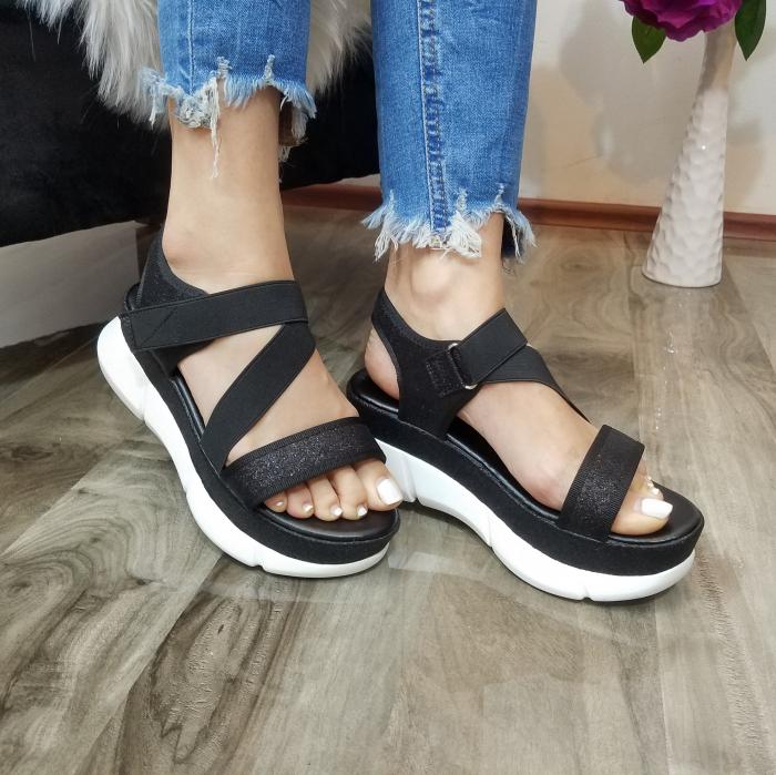 Incaltaminte Anca Black - Sandale 2