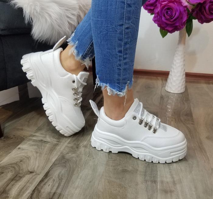 Incaltaminte Aramis White - Pantofi Sport 1
