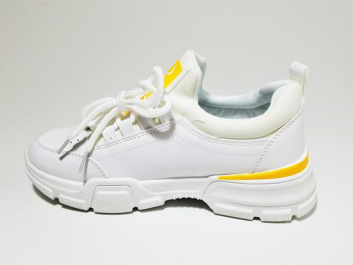 Incaltaminte Beatrice Galben - Pantofi Sport 2