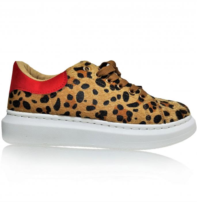 Incaltaminte Bonita Leopard - Pantofi Sport 0