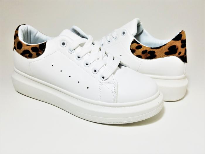 Incaltaminte Bonita White - Pantofi Sport 1