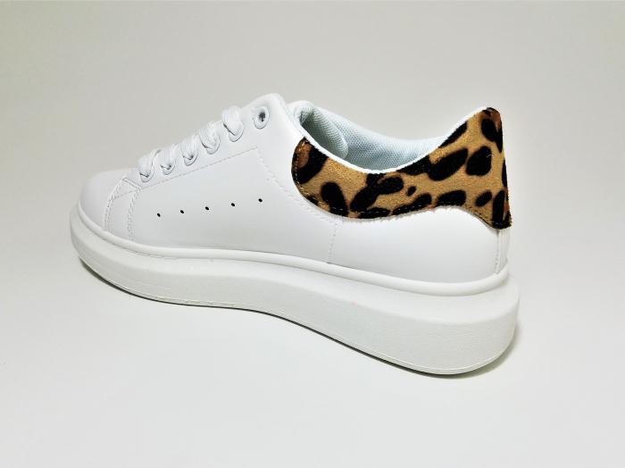 Incaltaminte Bonita White - Pantofi Sport 3