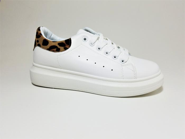 Incaltaminte Bonita White - Pantofi Sport 2
