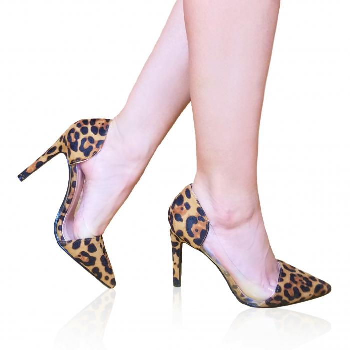 Incaltaminte Clona Leopard  - Pantofi [0]