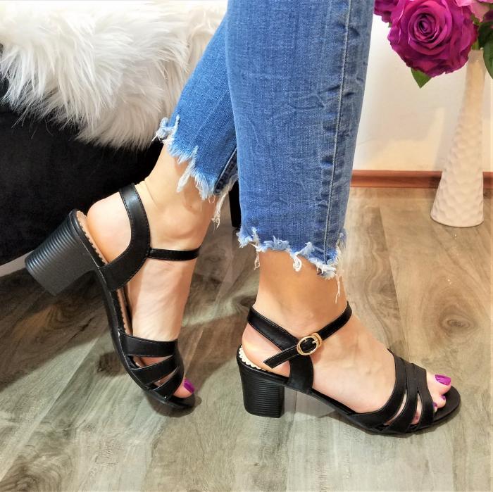 Incaltaminte Cori Black - Sandale 1