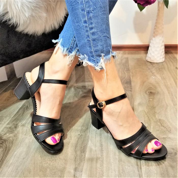 Incaltaminte Cori Black - Sandale 0