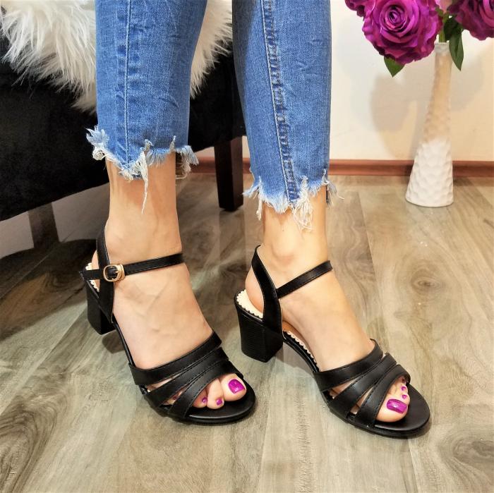 Incaltaminte Cori Black - Sandale 2