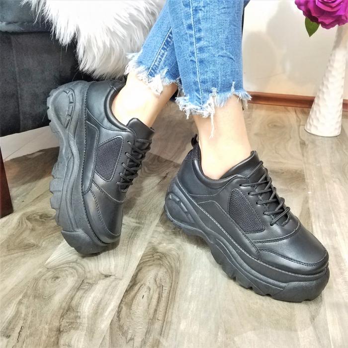 Incaltaminte Dalin Black - Pantofi Sport 1