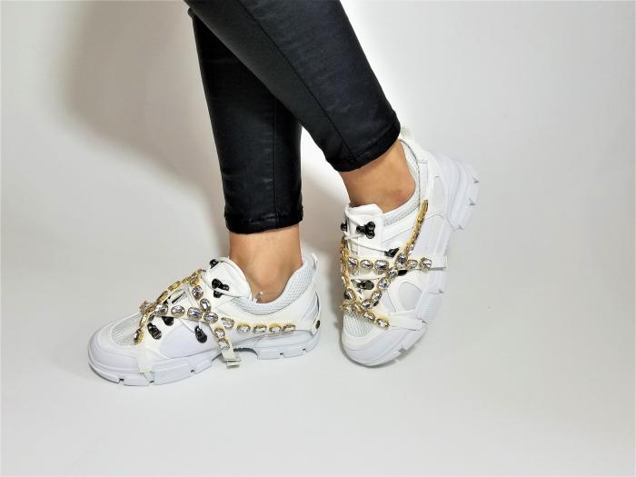 Incaltaminte Irina White - Pantofi Sport 1