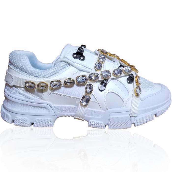Incaltaminte Irina White - Pantofi Sport 0