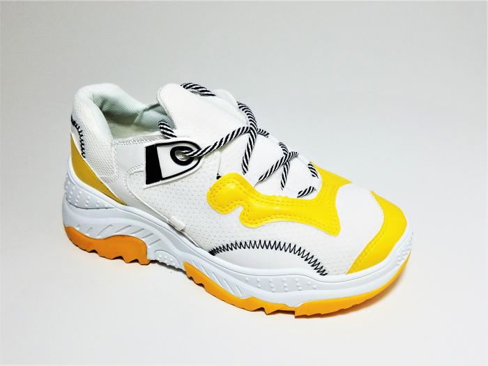 Incaltaminte Allegria Galben - Pantofi Sport 2