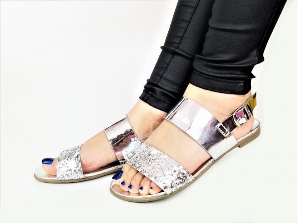 Incaltaminte Diva Silver - Sandale 2