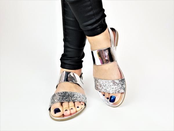 Incaltaminte Diva Silver - Sandale 3