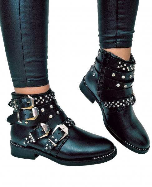 Incaltaminte Studded Leather - Ghete 0