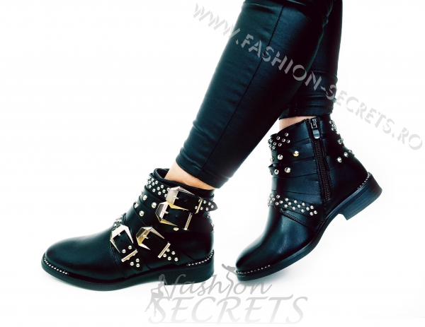 Incaltaminte Studded Leather - Ghete 3