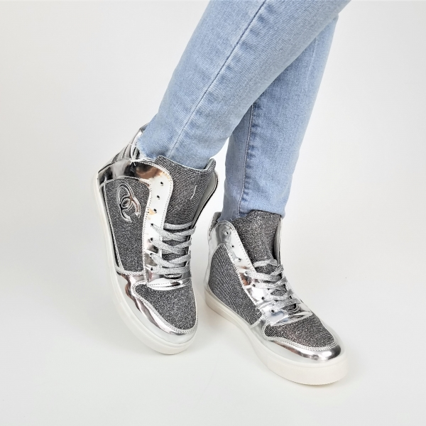 Incaltaminte Grey Sensation - Pantofi Sport 2