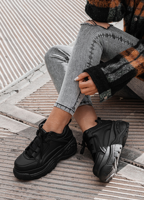 Incaltaminte Imala Black - Pantofi Sport 0