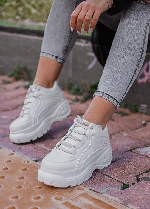 Incaltaminte Imala White - Pantofi Sport 0